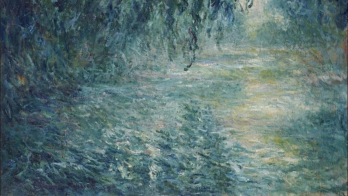 Morgon vid Seine / Claude Monet
