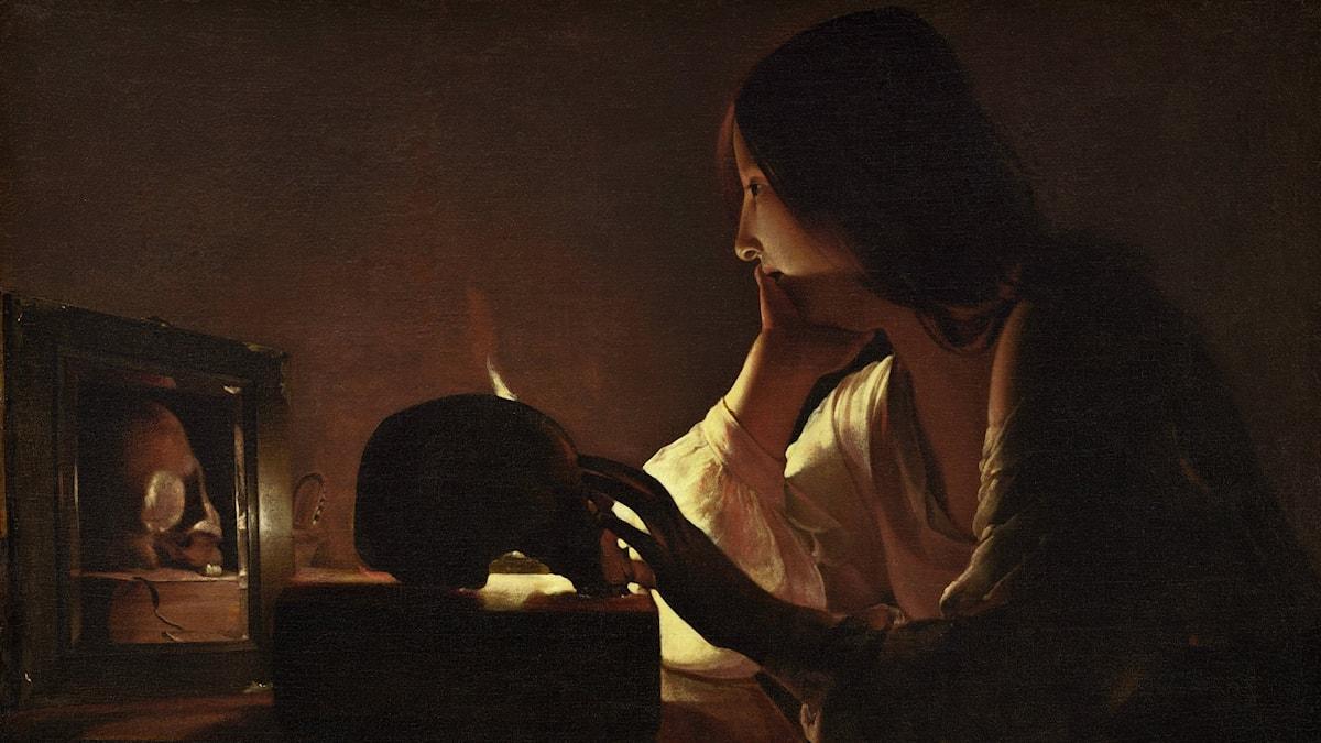 Georges de La Tour / The Repentant Magdalen