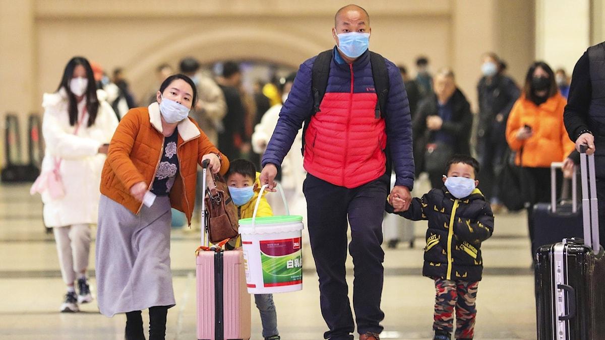 Coronaviruset i Kina.