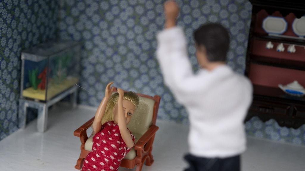 Våld i hemmet.