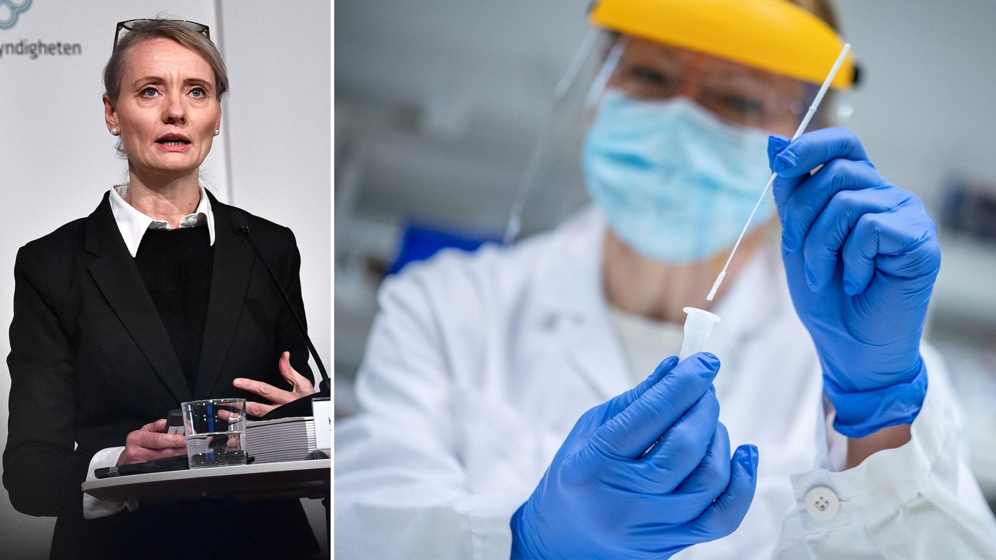 FHM om virusvarianter: Kan behövas nya vacciner