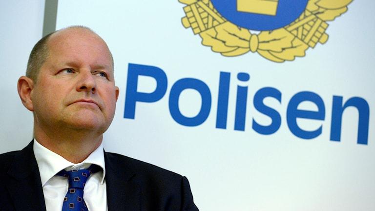 Polisens högste chef Dan Eliasson.