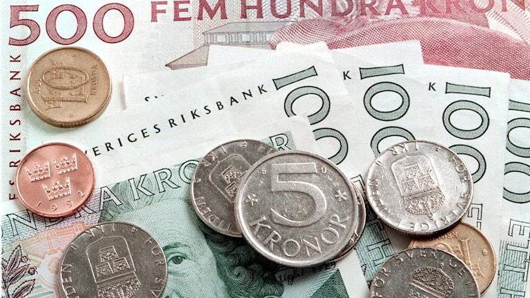 sedlar och mynt
