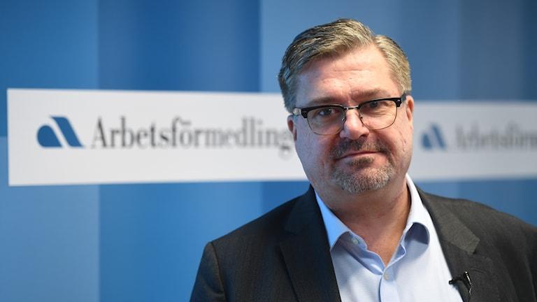 Mikael Sjöberg, Arbetsförmedlingen. Foto: Fredrik Sandberg/TT