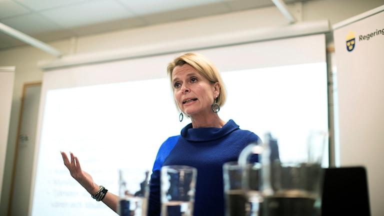 Åsa Regnér. Foto: Björn Larsson Rosvall/TT