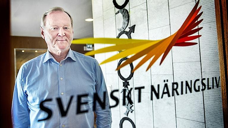 Leif Östling slutar som ordförande för Svenskt Näringsliv.