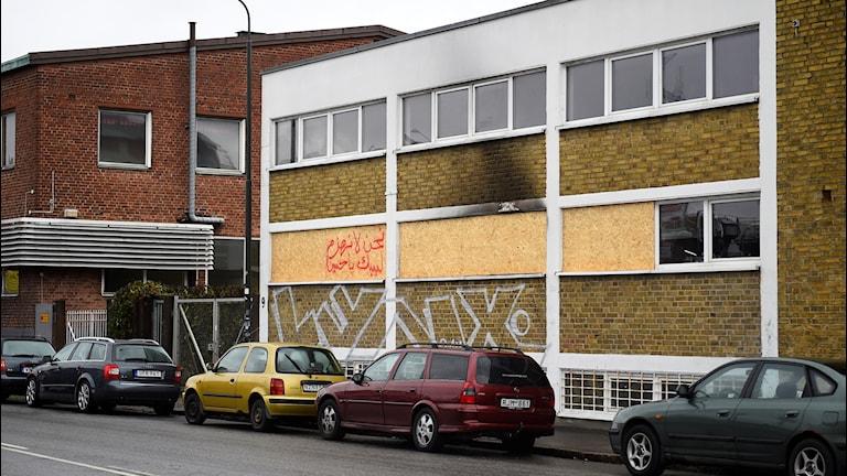 Muslimska kulturföreningen Aldorrs lokal i Malmö utsattes för brandattentat den 11 oktober.