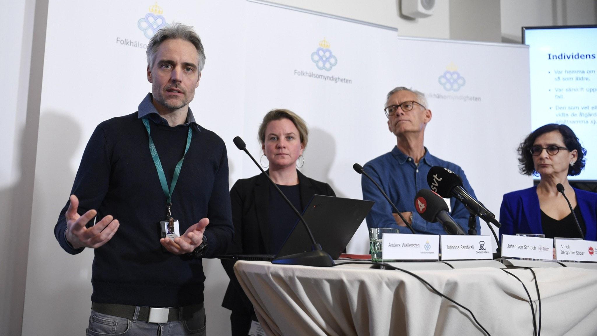 Över 250 personer i Sverige är smittade av coronaviruset