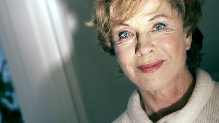 skådespelaren Bibi Andersson 2004