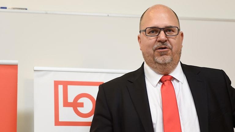 Karl-Petter Thorwaldsson är ledare för LO