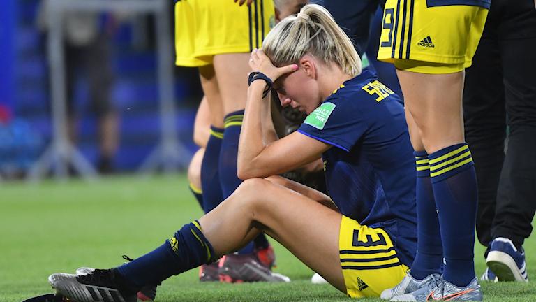 Sverige förlorade VM-finalen i fotboll.