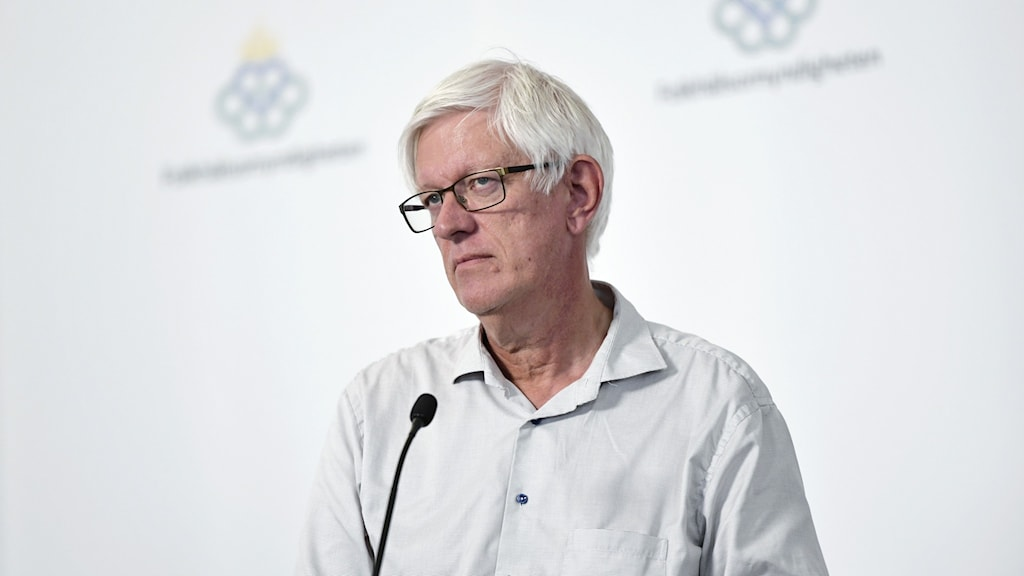 Folkhälsomyndighetens chef Johan Carlson