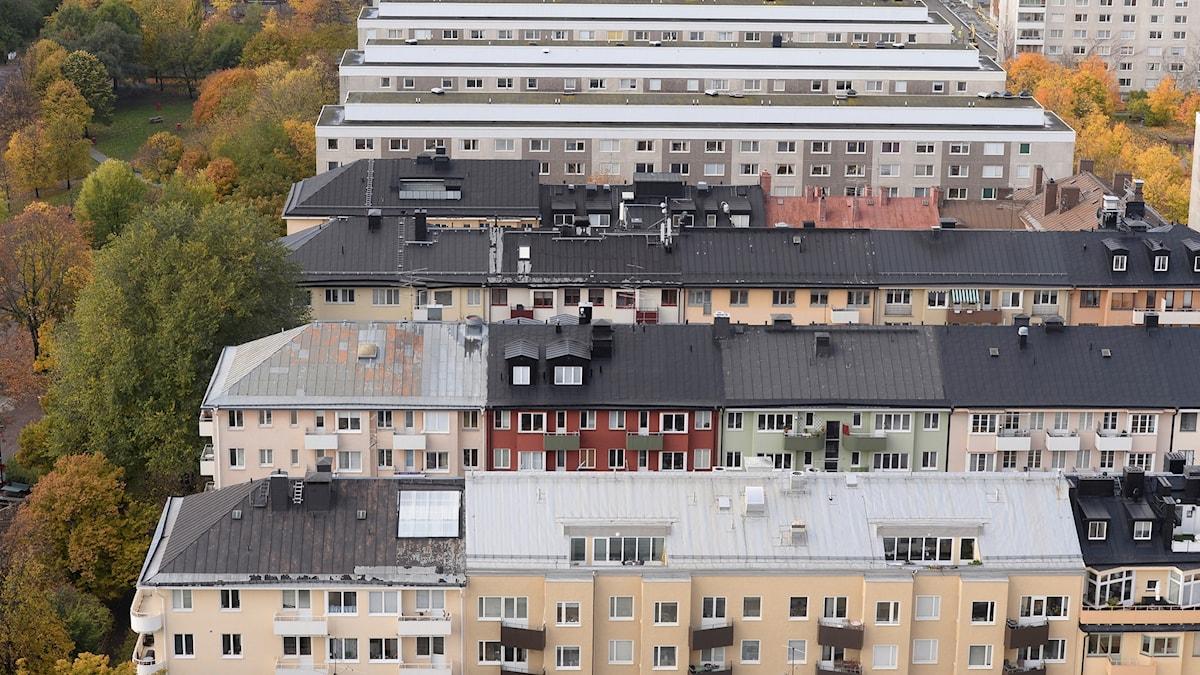 Bostadshus på Södermalm