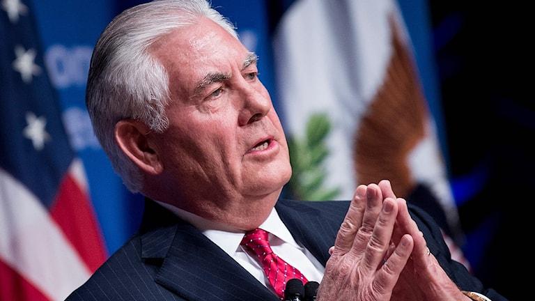 USA:s utrikesminister Rex Tillerson.