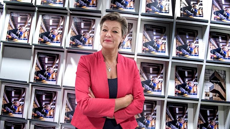 Ylva Johansson. Foto: Lars Pehrson/SvD/TT