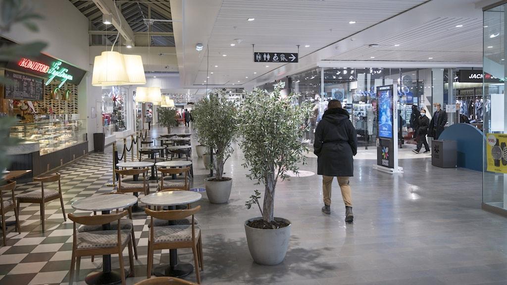 Gränbystaden köpcenter i Uppsala.