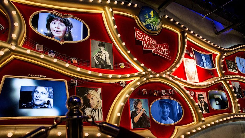 En bild på Swedish Music Hall of Fame