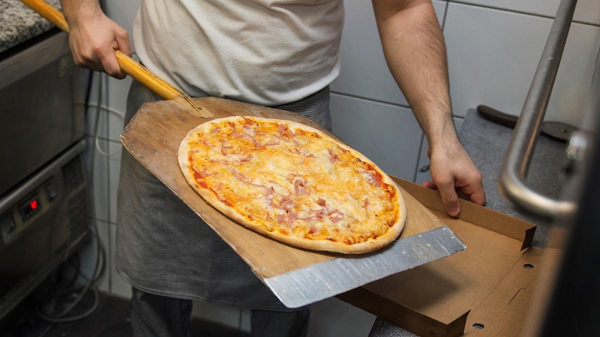 Pizza. Foto: Stina Stjernkvist/TT