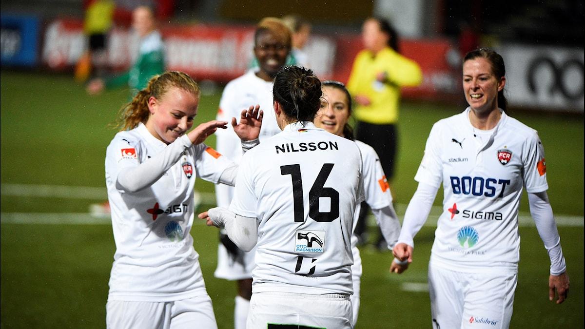 Spelare från FC Rosengård