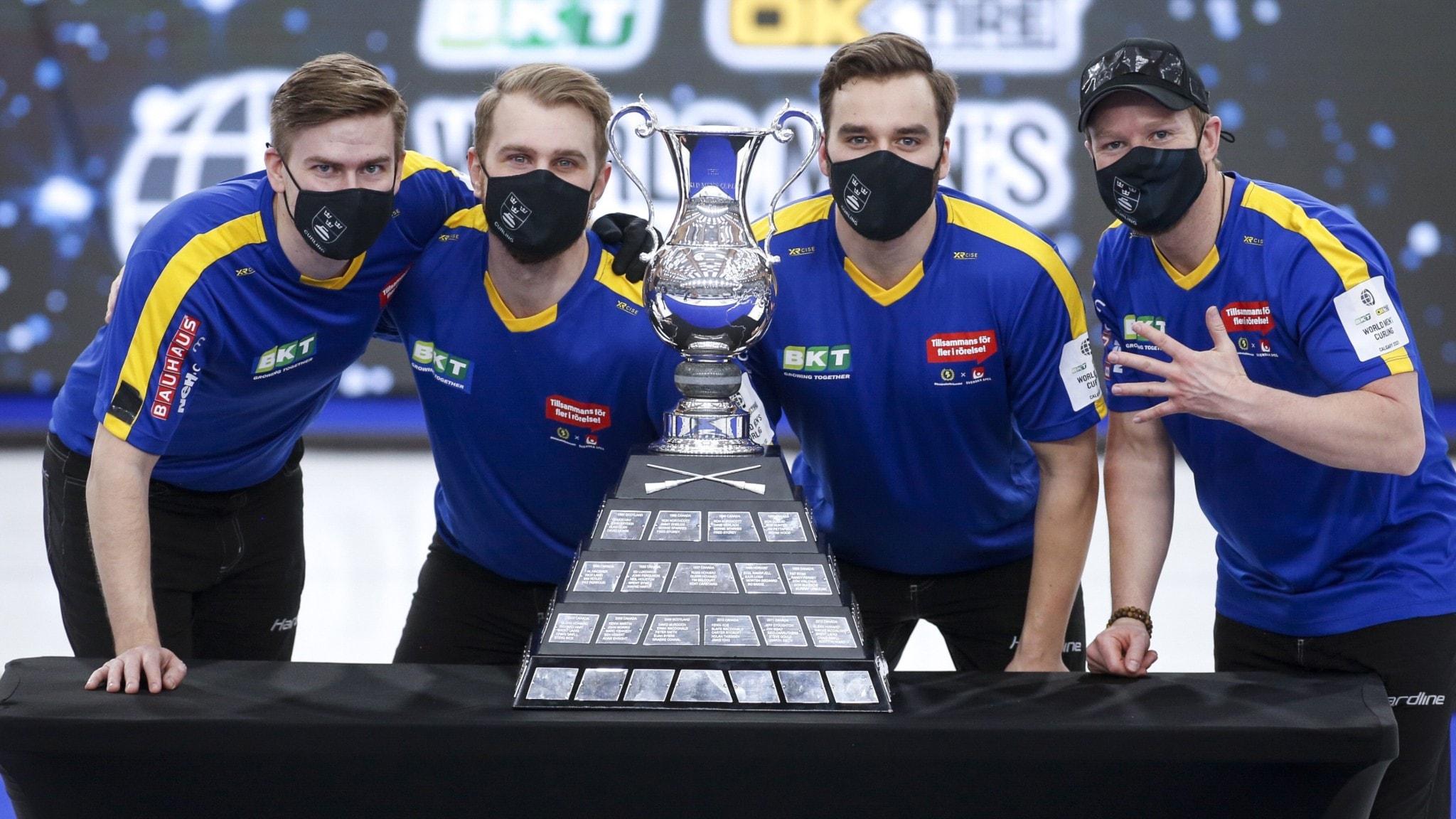 Sverige är världsmästare i curling igen