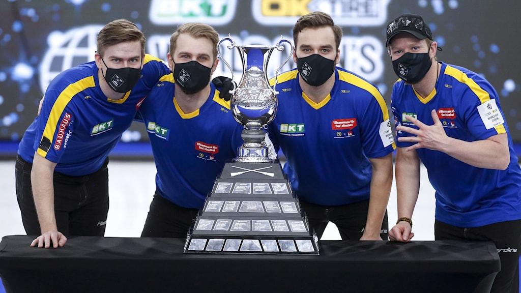 Sveriges herrlag i curling vann VM i Kanada.