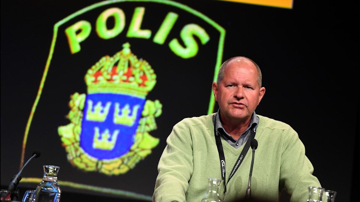 Polischefen Dan Eliasson