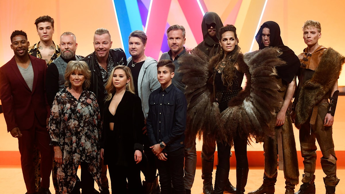 Artisterna som ska tävla i Melodifestivalen 2019.