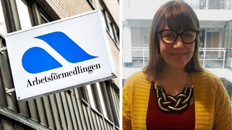 Susanna Westberg arbetar på Arbetsförmedlingen.