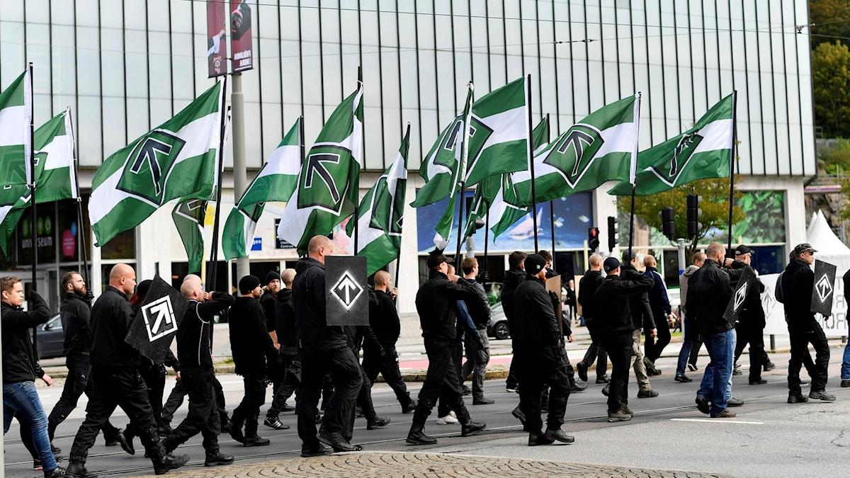 Nordiska motståndsrörelsen, NMR