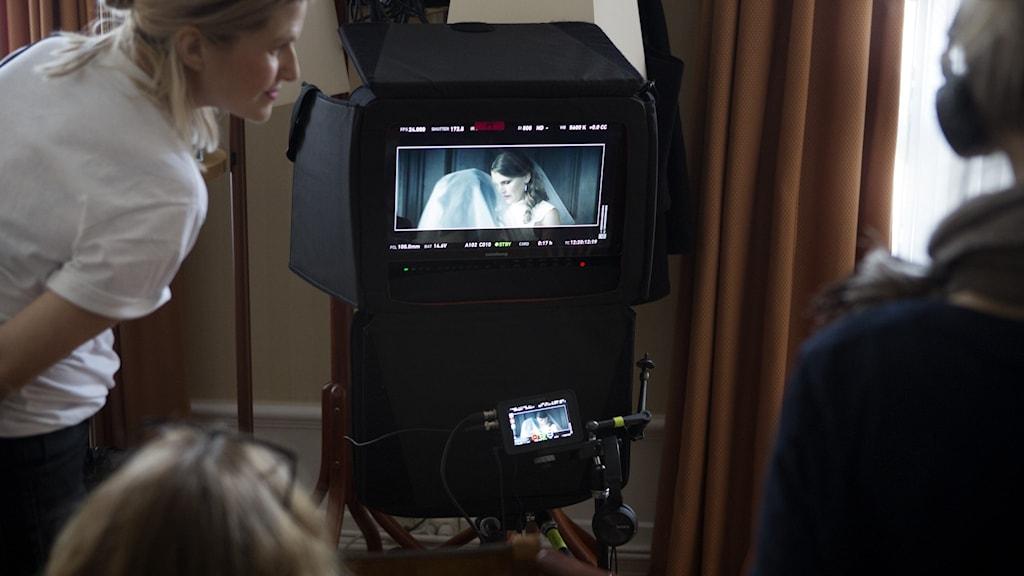 Bild från en filminspelning.
