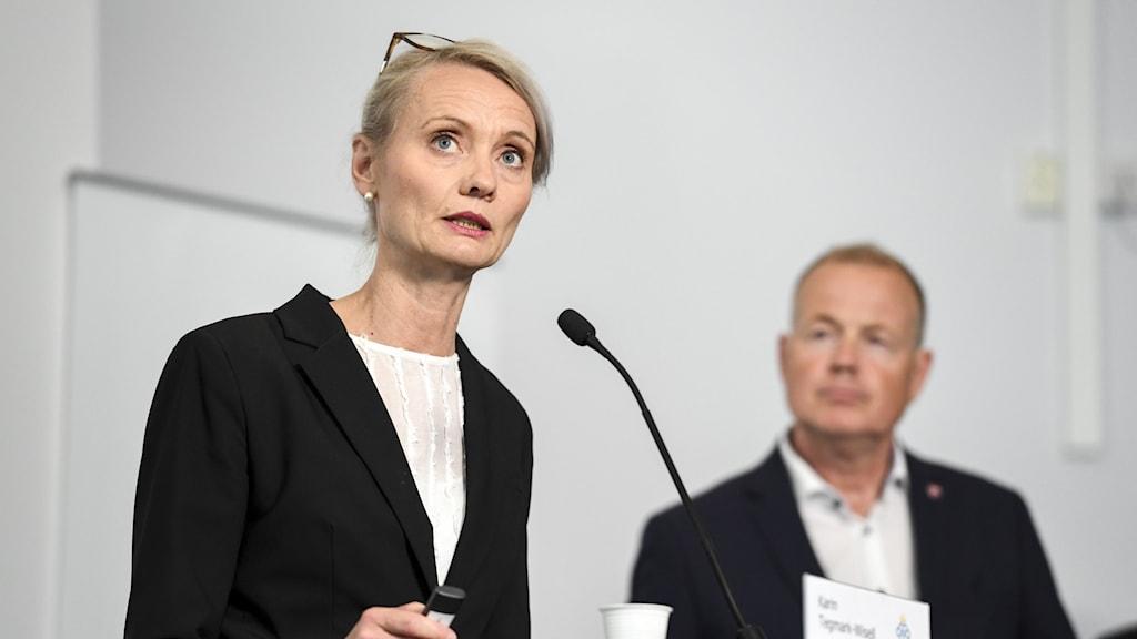 Karin Tegmark Wisell är avdelningschef på Folkhälsomyndigheten.