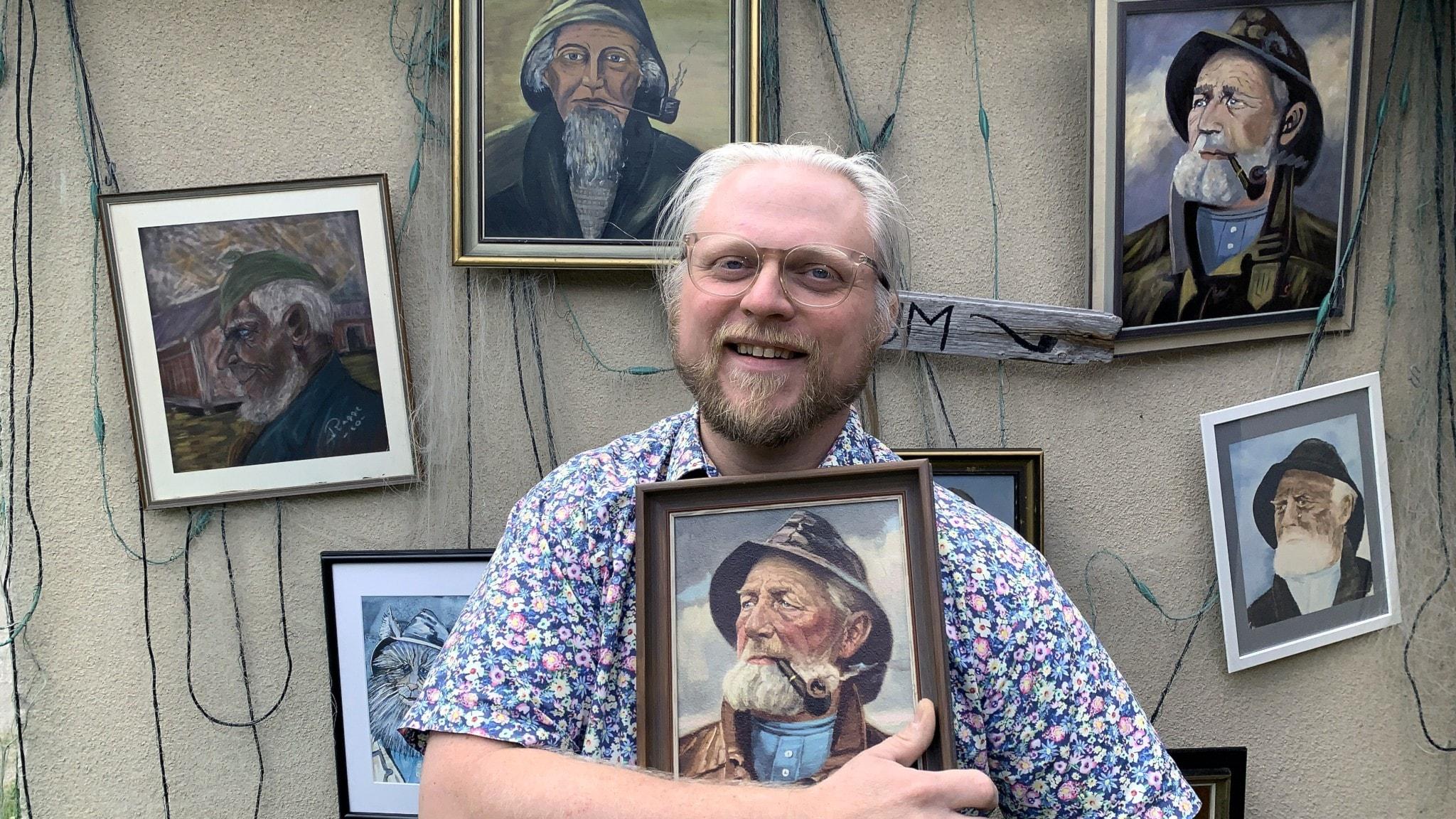 Fredrik Björkman – grundare och intendent, Sveriges fiskargubbemuseum.