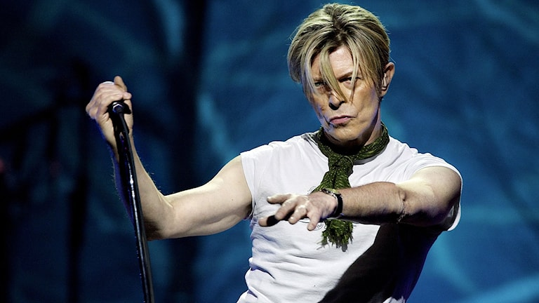 David Bowie. Foto: Thomas Björnflaten/TT.