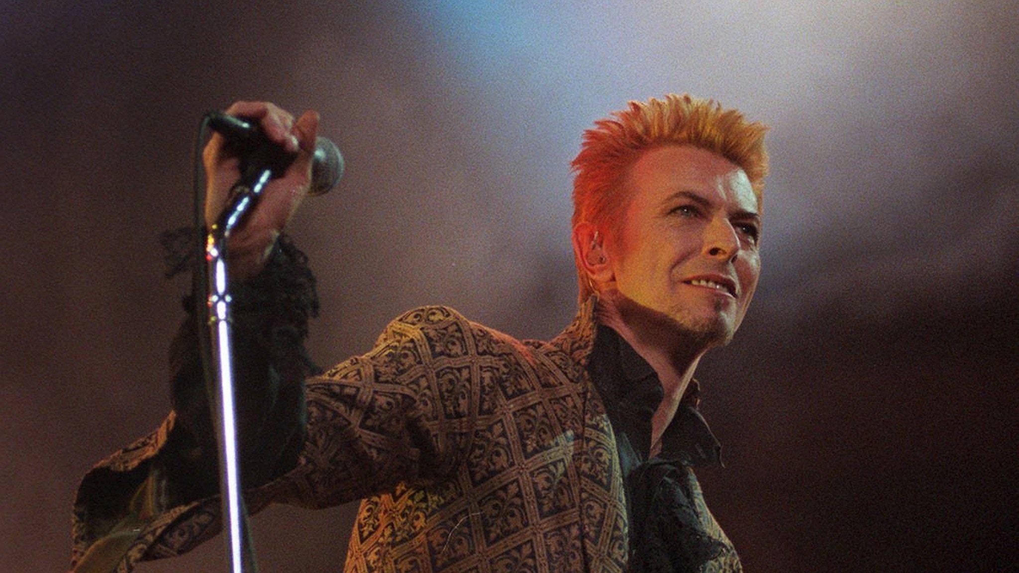 David Bowie. Foto: Ron Frehm/TT.