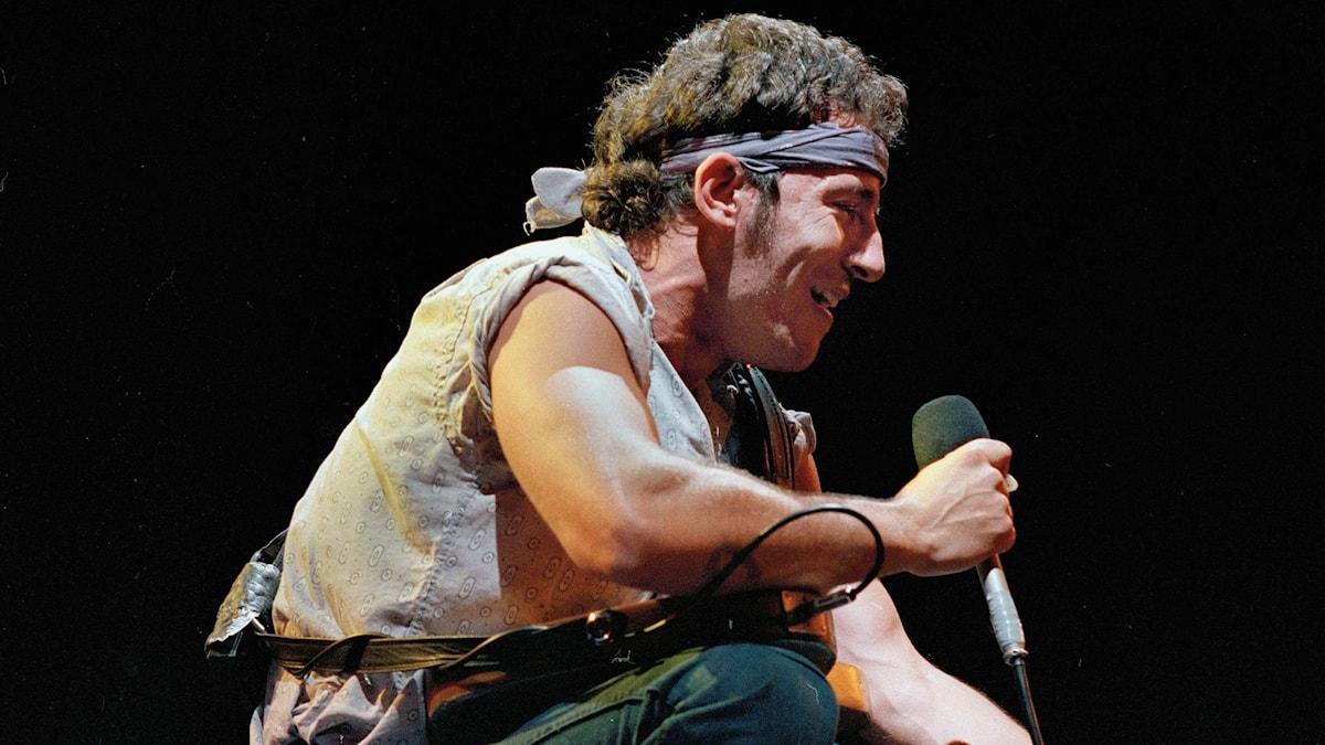 Bruce Springsteen 1984.