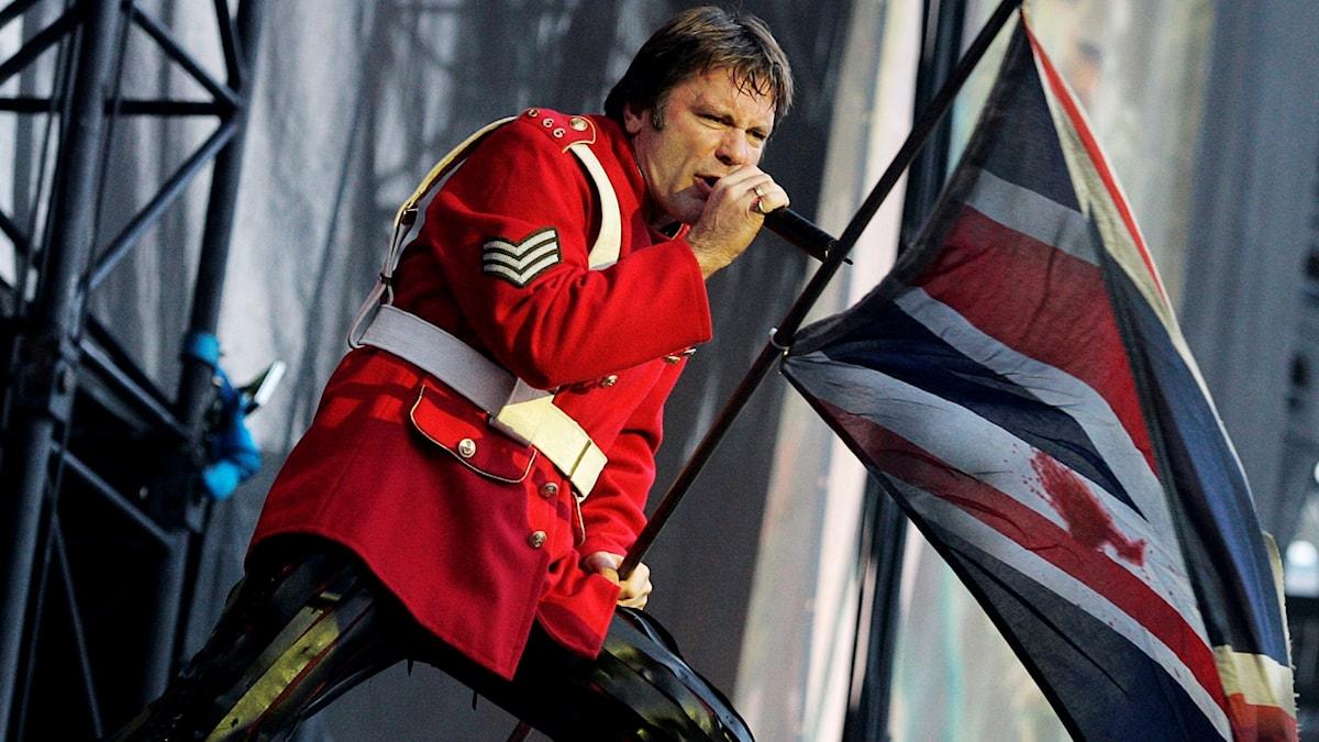 Iron Maiden spelade på Ullevi i Göteborg 2005.