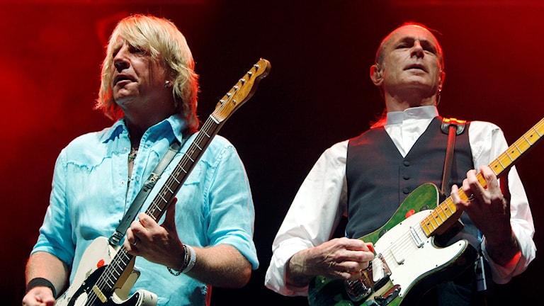 Rick Parfitt och Francis Rossi 2007.