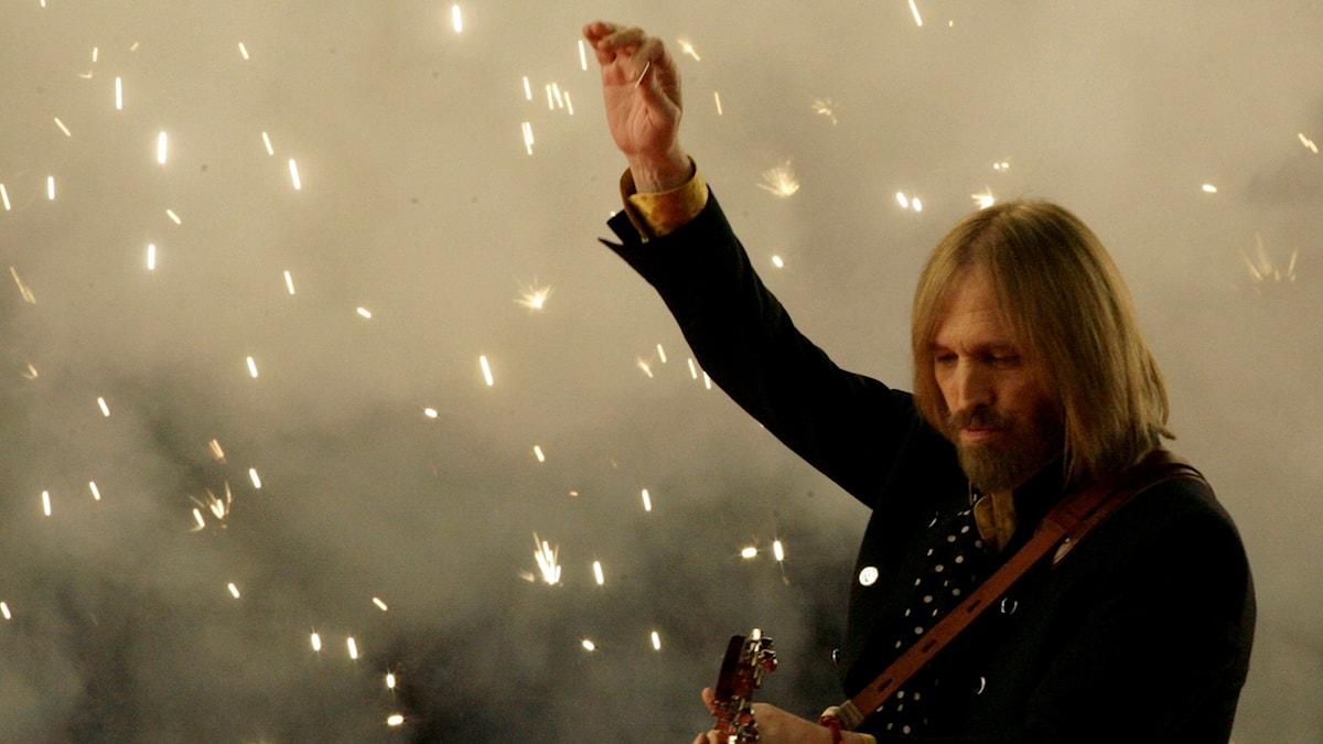 Tom Petty vid Super Bowl 2008.