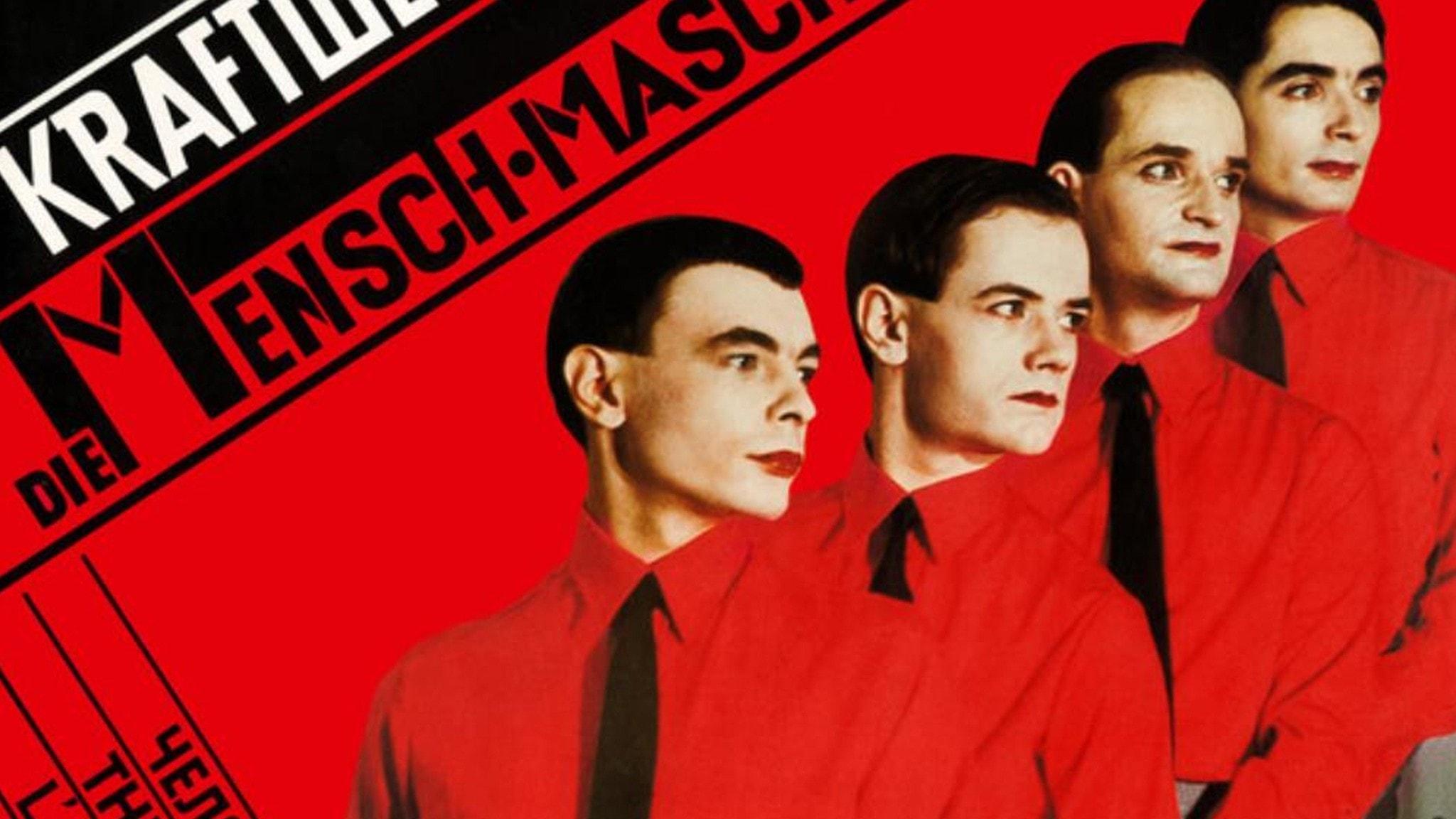 Från omslaget till Kraftwerks skiva Die Mensch-Maschine från 1978.