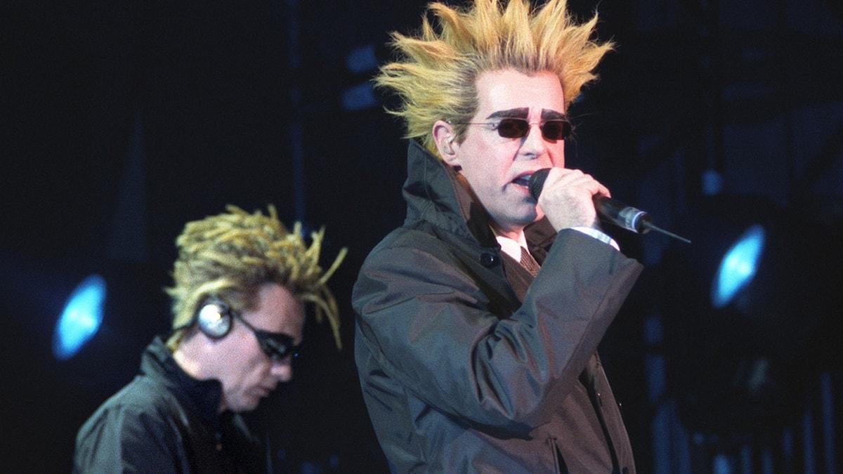Pet Shop Boys på scen 1999