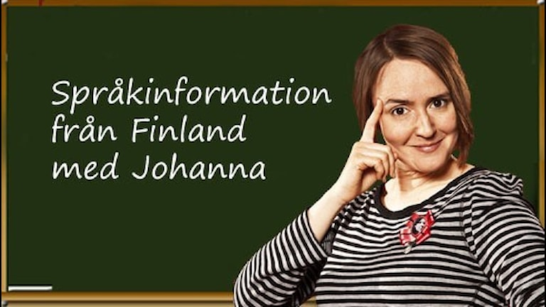 Språkinformation från Finland med Johanna Koljonen