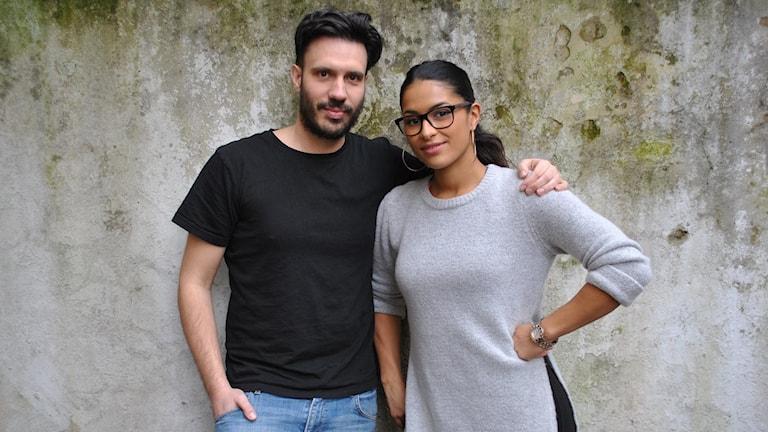 Dejan Cokorilo tillsammans med Linda Pira