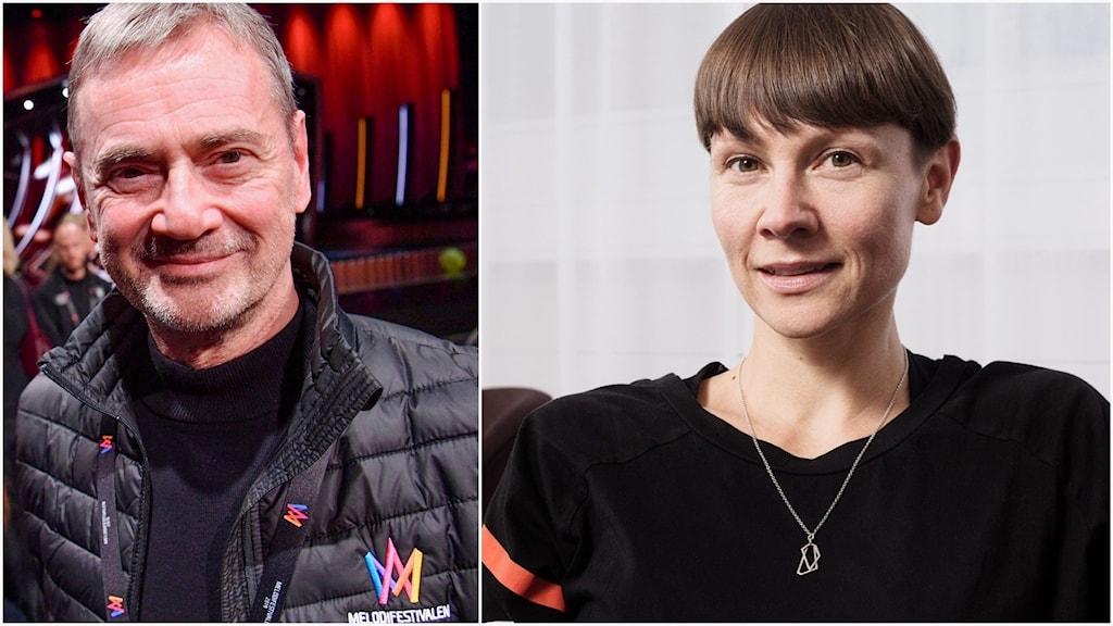 Karin Gunnarsson, i dag biträdande tävlingsproducent och om två år tar hon över efter Christer Björkman i Melodifestivalen