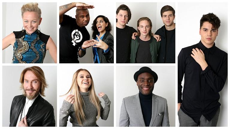 SaRaha, Swingfly feat. Helena Gutarra, SMILO, After Dark, Lisa Ajax, Boris René och Oscar Zia tävlar i den tredje deltävlingen i Melodifestivalen 2016.