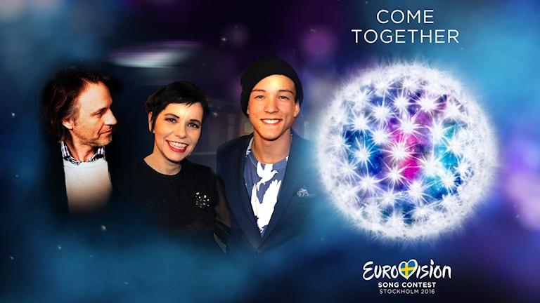 Carolina Norén och Björn Kjellman guidar dig genom den första semifinalen i Eurovision Song Contest 2016 direkt från Globen.