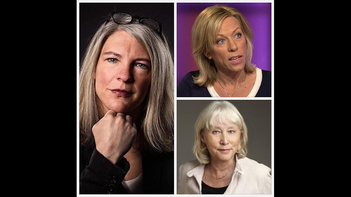 Sara Stenholm, Ginna Lindberg, Britt-Marie Mattsson