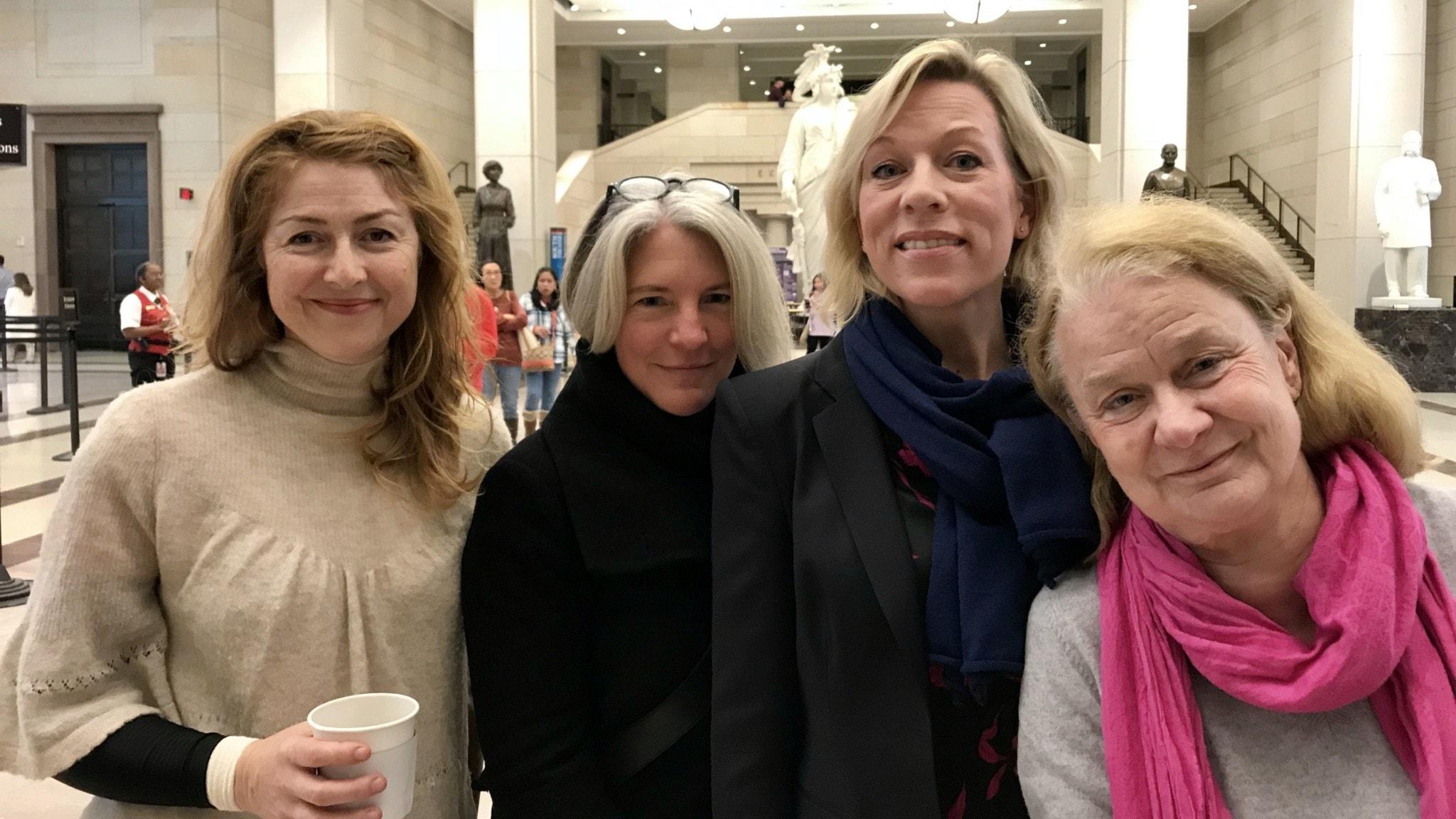 Kajsa Boglind, Sara Stenholm Pihl, Ginna Lindberg och Karin Henriksson