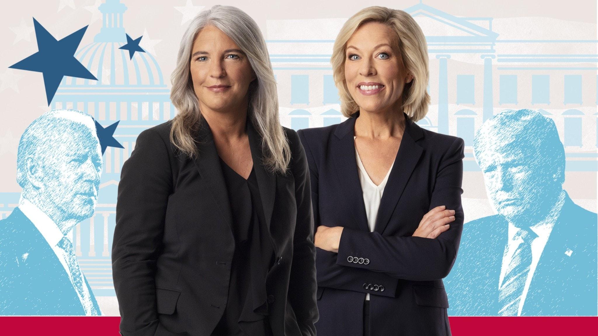 Sara Stenholm och Ginna Lindberg