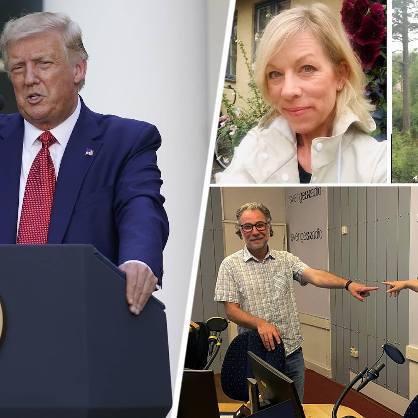 Trump räddar Stone och coronasmittan ökar
