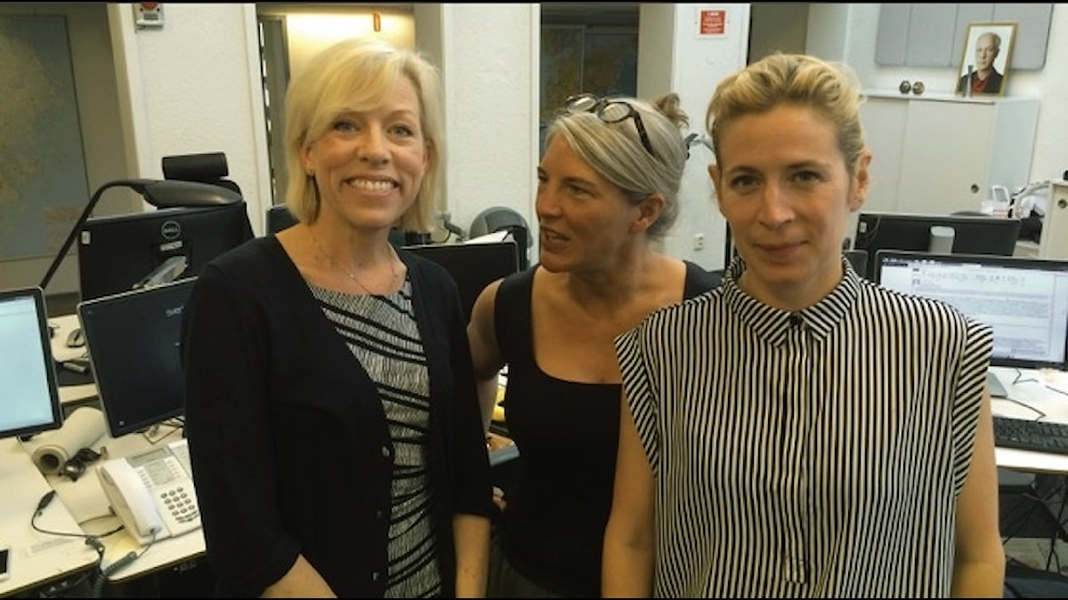 Ginna Lindberg, Sara Stenholm, Karin Pettersson